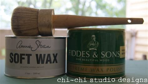 chalk paint and wax tutorial sloan chalk paint waxtutorial someday projects