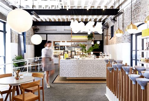 organic interior design the rabbit organic tea bar by matt woods interiorzine