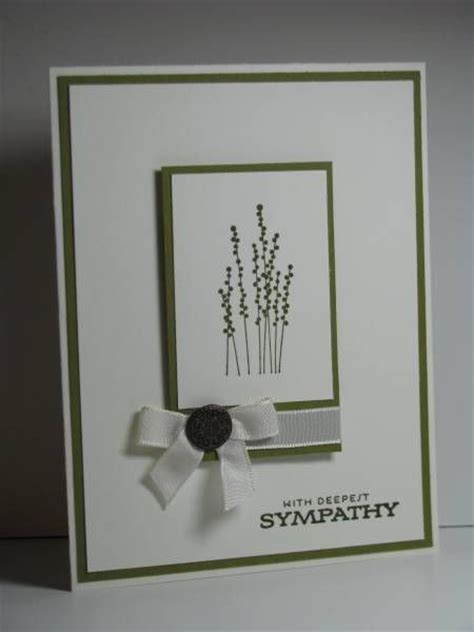 make your own get well card sympathy cards simple and silhouette on