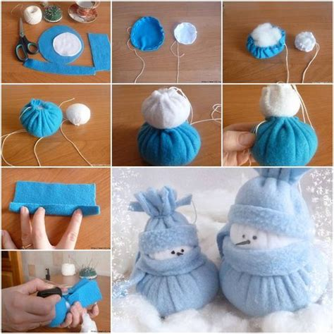 and crafts at home felt snowman holidays and diy tutorial on