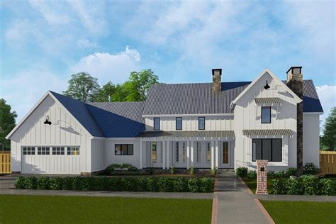 2 story farmhouse plans classic farmhouse with two story great room 62728dj architectural designs house plans