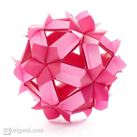 kusudama origami kusudama origami gallery go origami