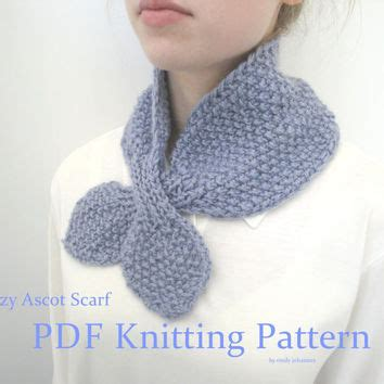ascot scarf knitting pattern best easy scarf knitting patterns products on wanelo