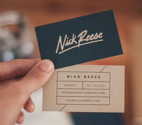 how to make a simple business card 30 beautiful exles of modern business card designs for