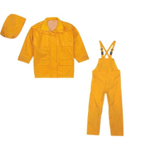 Terra Xx Large Yellow Rip Stop Suit 3