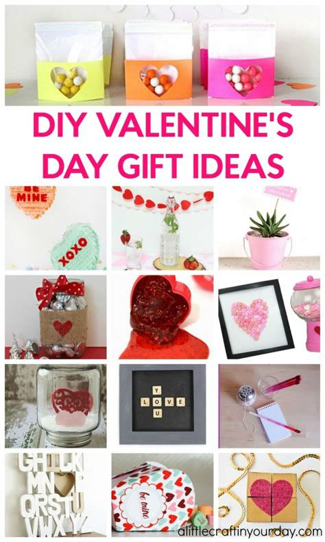 diy craft projects for gifts diy valentines day gift ideas a craft in your day