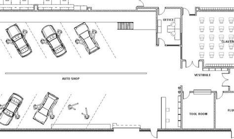 automotive shop floor plans 23 harmonious automotive shop plans home building plans