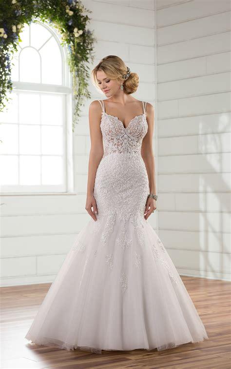 wedding gown mermaid wedding dresses sheer mermaid wedding gown