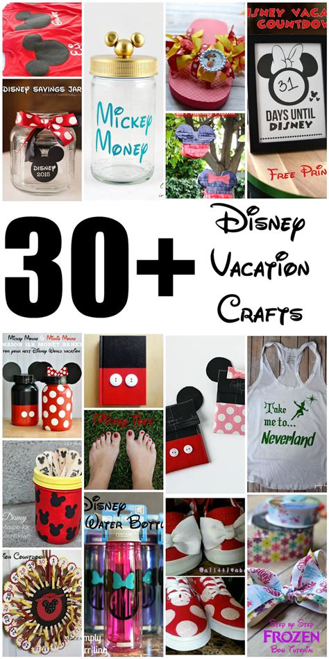 disney craft projects poofy cheeks 30 diy disney crafts for a disney vacation