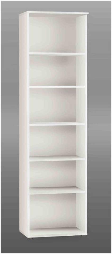 Kitchen Storage Furniture tempra white tall narrow bookcase bookshelf furniture kr02 120
