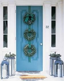 wreaths for front door wreaths martha stewart