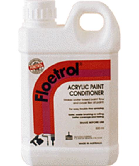 acrylic paint conditioner tcm floetrol keep paint fluid
