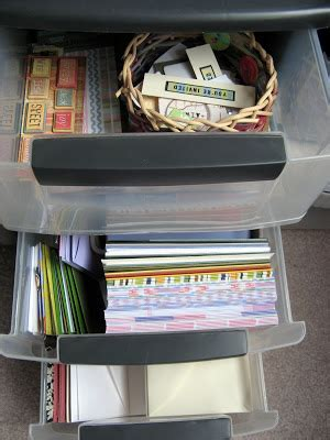 organizing card supplies of cats and cardstock organization card supplies