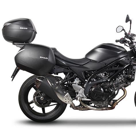 Suzuki Sv650 0 60 by Portamaletas Lateral 3p System Shad Moto Suzuki Sv650 2016