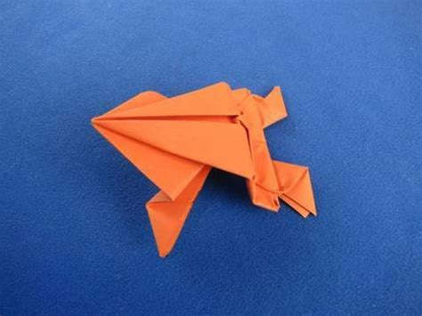 where does origami come from origami frog ranocchia salterina 折り紙