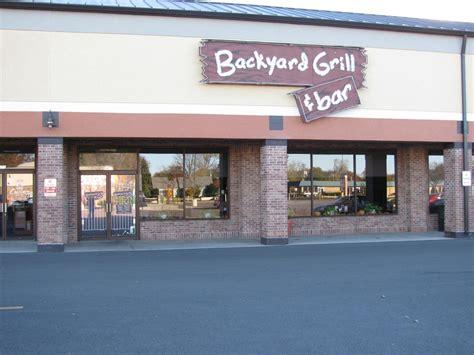 backyard and grill backyard bar and grill menu gogo papa