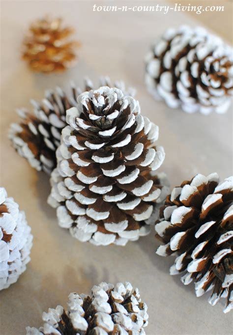 crafts pine cones pine cone trees town country living