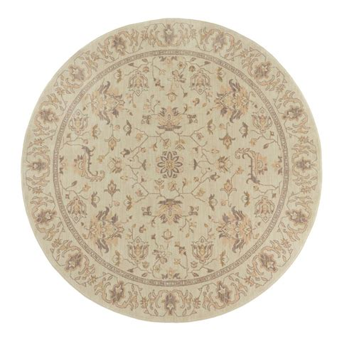 8 ft rugs home decorators collection jackson beige 8 ft x 8 ft