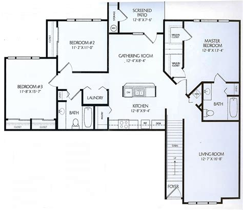 3bed 2bath floor plans 3bed 2bath floor plans 3bed 2bath floor plans 3 bedroom