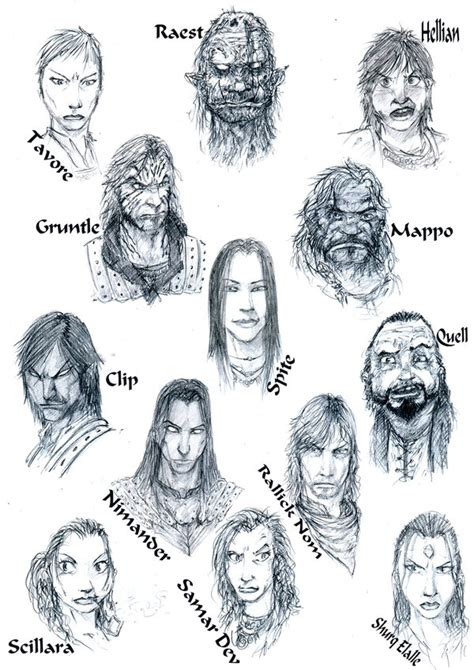 malazan book of the fallen character pictures characters by slaine69 by malazan guild on deviantart