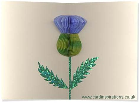 thistle rubber st card inspirations honeycomb demo 2