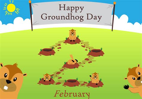 groundhog day en francais groundhog day free vector 333895 cannypic
