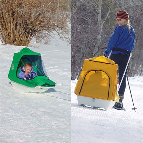 Running Head Lamps by All Snow Sleds Amp Ski Pulks From Orssnowshoesdirect Com