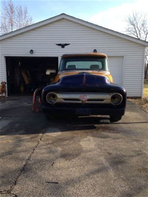 1956 Ford F100 Parts by Buy Used 1956 Ford F100 Longbed Project W Many Parts