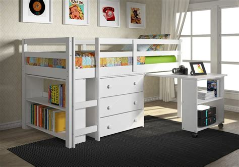 size bunk bed with desk size loft bed with desk and storage small wardrobe