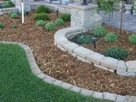 rocks for garden edging 17 best 1000 ideas about edging on