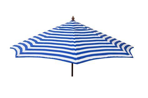 blue and white patio umbrella destinationgear 9 ft patio umbrella blue and white stripe