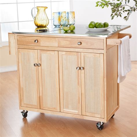 belham living portable kitchen island with optional stools at hayneedle