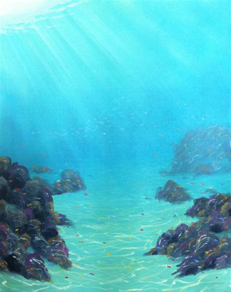 acrylic painting underwater the v logs learn how to paint amazing realism with our