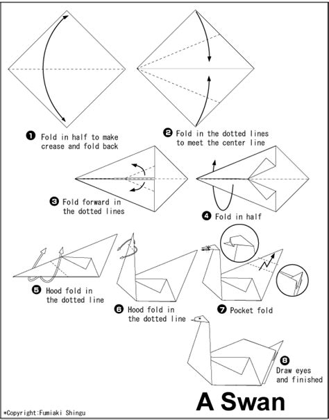 how to make origami swan origami swan this would make a beautiful mobile kid