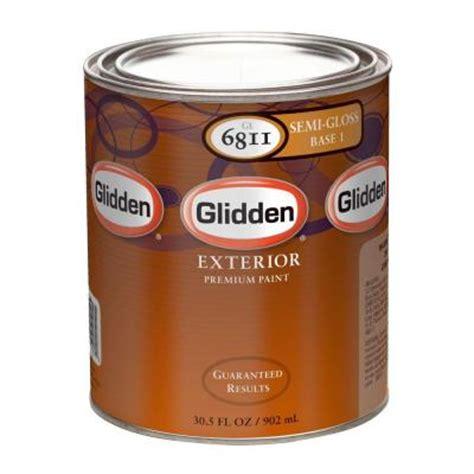 acrylic paint exterior glidden premium 1 qt semi gloss water based acrylic