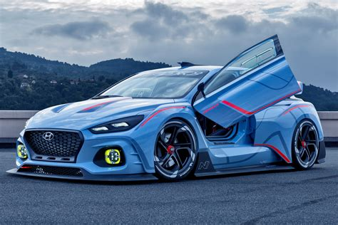 Hyundai Cars by Hyundai Rn30 Concept And I20 Wrc Car Official Pictures