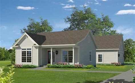 French Country Ranch House Plans planos de casa mediana con estilo tradicional de dos