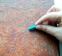 painting tutorial artangel mixed media crumpled tissue technique tutorial