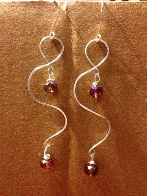 how to make wire jewelry earrings diy wire earrings easy diy