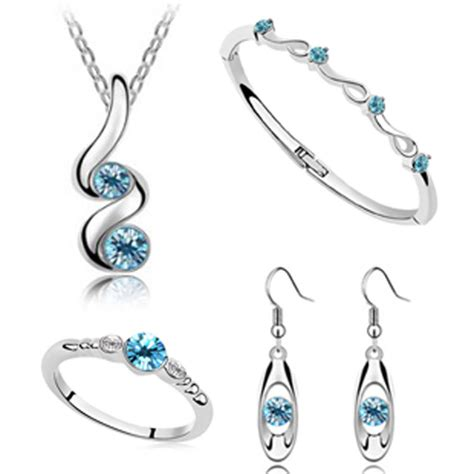 earring pendants jewelry wedding jewelry sets silver plated pendant necklaces