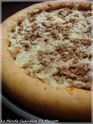 pizza moelleuse le monde culinaire de meriem
