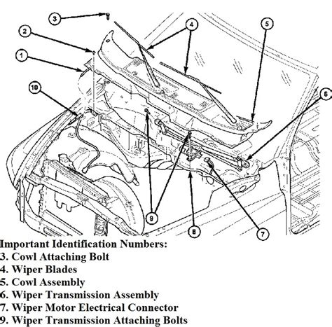 how cars engines work 1992 plymouth voyager windshield wipe control dodge ram pickup wiper transmission linkage motor broken un attached came apart pulled apart