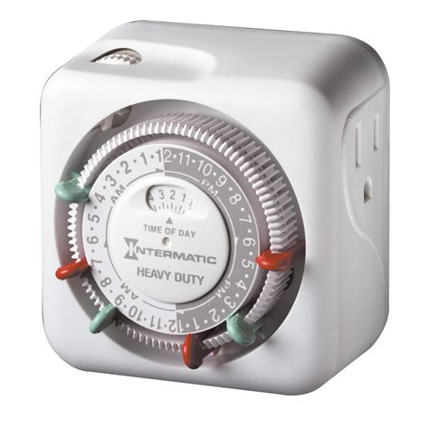 electrical timer c7 c9 light strings heavy duty grounded timer indoor