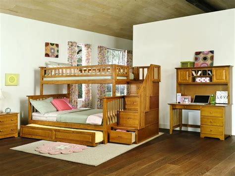 bunk bed with stairs and desk bunk beds with stairs and desk l shaped bunk bed