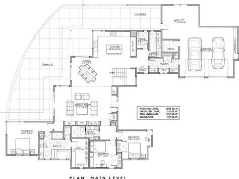 modern contemporary floor plans luxury luxury modern house floor plans new home plans design