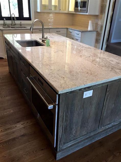 kitchen granite island best 25 light granite ideas on cabinets