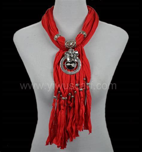 how to make scarf jewelry jewelry scarf jewellery with pendant china scarf