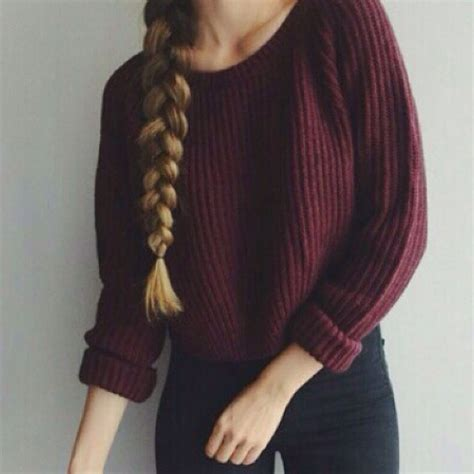 maroon knit sweater melville maroon cropped boat neck oversized knit