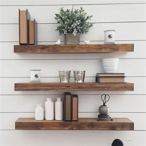 floating shelves reclaimed wood 35 floating shelves ideas for different rooms digsdigs