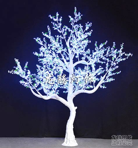 lighted tree 2014 acrylic white outdoor lighted trees view
